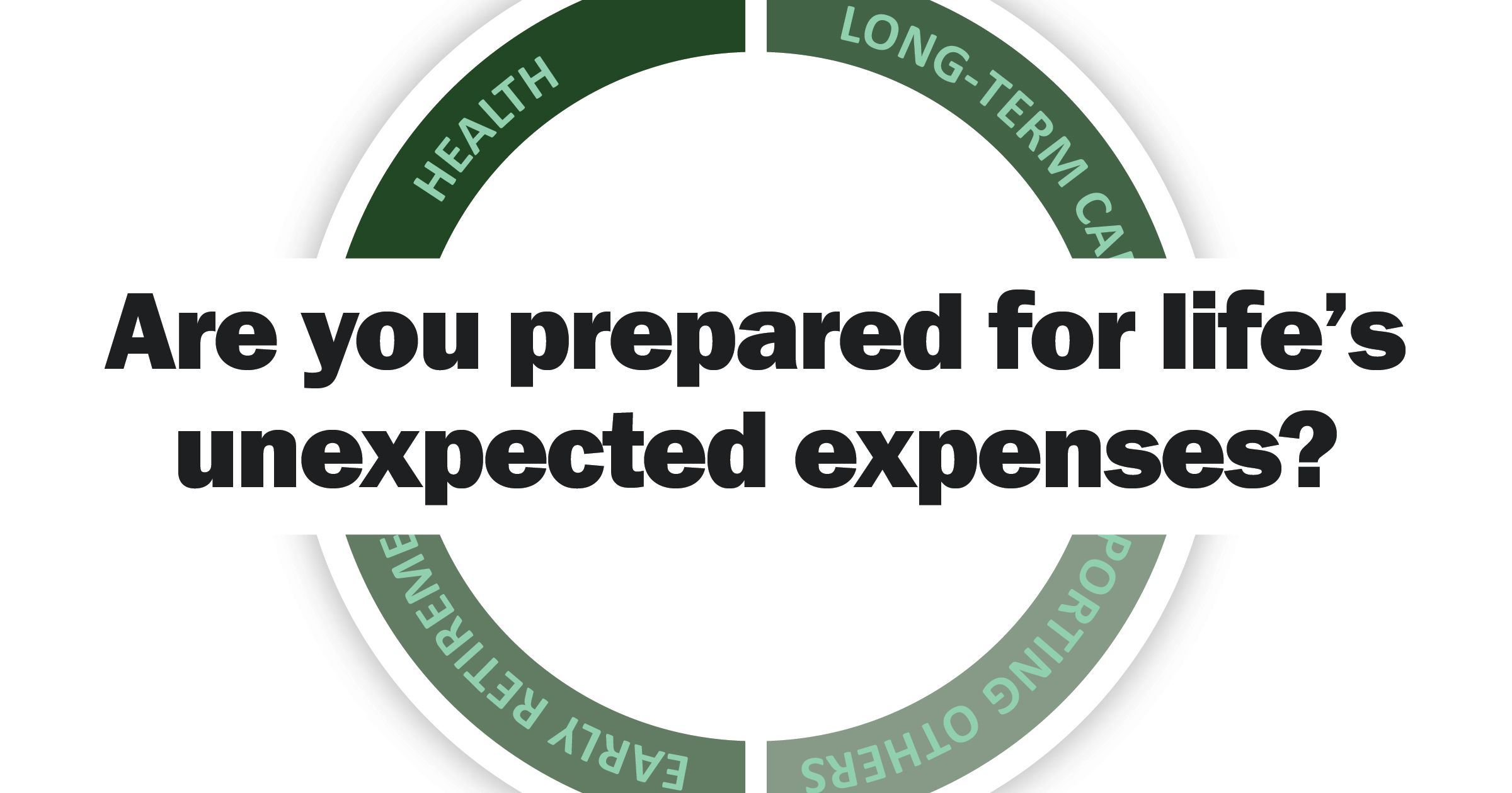 Are you prepared for life's unexpected expenses?