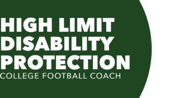 High Limit Disability Protection College Football Coach