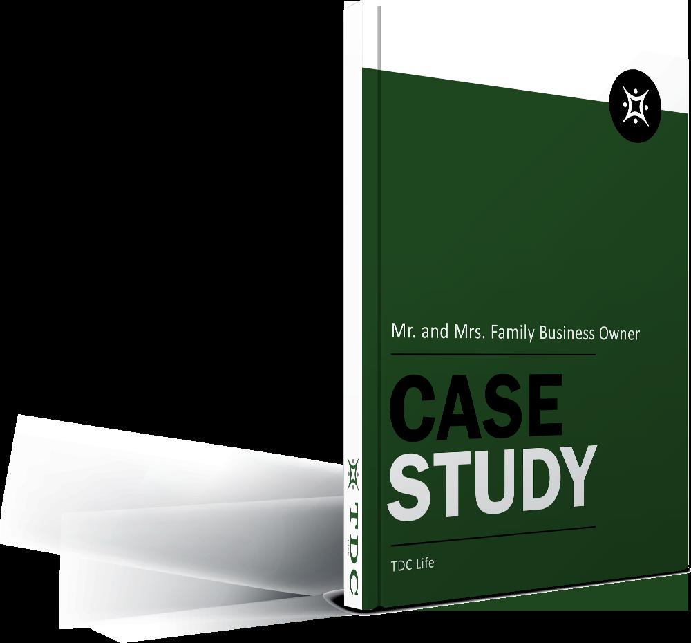 Case Study mockup