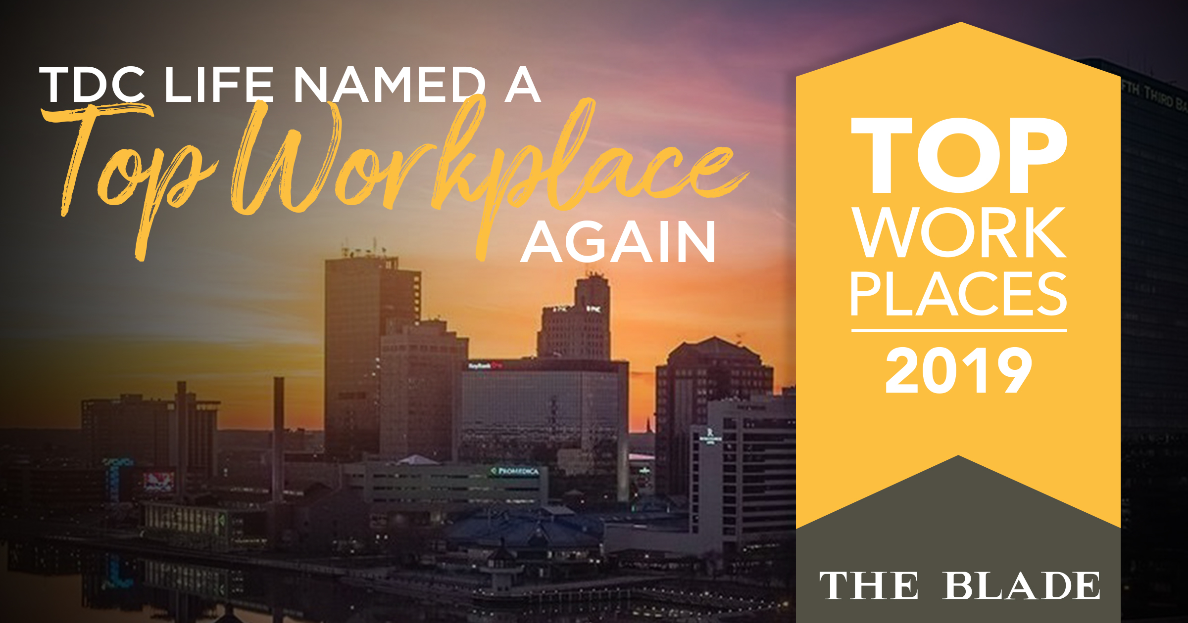 2019 Top Workplace Announcement