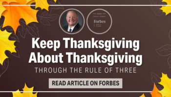 Keep Thanksgiving About Thanksgiving